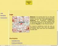 Bild Webseite  Boberow