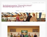 Bild Webseite  Niederbergkirchen