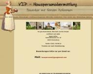 Website Arbeitsvermittlung Oranienburg Regine M�ller