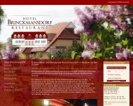 Bild Hotel Brinckmansdorf Hoffmann GbR