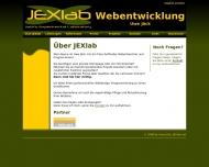 Bild Webseite JEXlab Webentwicklung Berlin