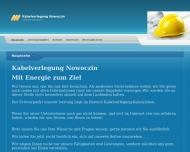 Website Kabelverlegung
