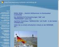 Website FERIENWOHNUNGEN FERIENHAUS MEERBLICK STRANDLAGE CUXHAVEN