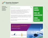 Website Quartier Stuttgart