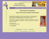Bild Webseite Iris Lippert Wohnberatung  ... ungewöhnlich persönlich ! Nürnberg