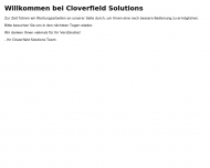 Website Cloverfield Solutions | Full-Service Werbeagentur Wegberg