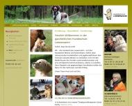 Website Hundeschule Loewenzahn