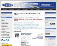 Website Modellbauversand Hanke