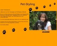 Bild Webseite Pet-Styling Rösrath