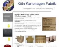 Bild Köln Kartonagen Fabrik gmbH