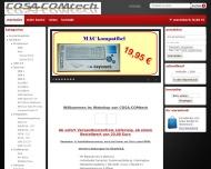 Website COSA-COMtech