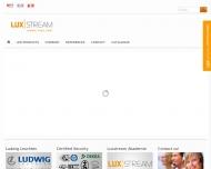 Bild Webseite Luxstream Darmstadt