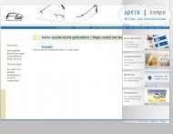 Website Augenoptik Kempe