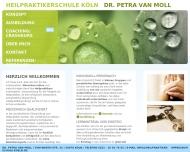 Bild Heilpraktikerschule Dr. P. van Moll Köln