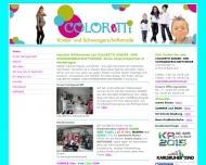Website Coloretti Kindermode und Schwangerschaftsmode
