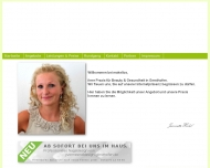 Website makellos Beauty & Gesundheit
