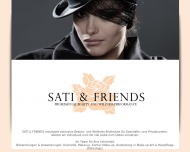 Bild Webseite Sati and Friends Hamburg