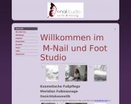Website M-Nail Studio