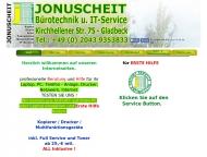 Website Bürotechnik u IT-Service