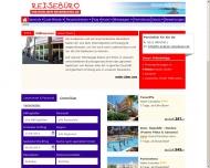 Bild Webseite Kölner Reisebüro Köln