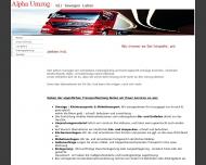 Bild Webseite Alpha Umzüge Troisdorf