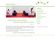Bild Webseite Physiotherapiepraxis Karim Zighmi Berlin