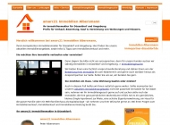 Website amarc21 Immobilien Albersmann