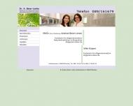 Bild Webseite Allgemeinärztin MUDr. (Univ.Preßburg) Andrea Beier-Lenko München