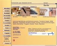 Website Benfer-Tischlerei