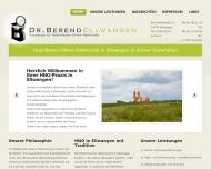 Website Dr. Berend Ellwangen
