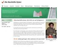 Bild Webseite  Oyten
