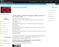 Website CC Rent a Car Dresden