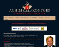 Website 1A - VERSICHERUNGSMAKLER -  ACHIM KÖNTGES
