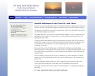 Website Stoffwechseltherapeut CMI Ernährungsmediziner BFD