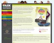Bild Webseite TASK Schauspielschule für Kinder und Jugendliche München