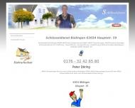 Bild Webseite Schlüsseldienst Büdingen 0176 - 32 42 65 80 Büdingen