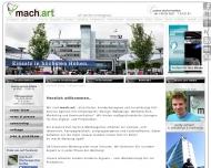 Website mach.art Werbeagentur Thüringen
