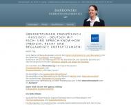 Website Barkowski-Übersetzungsservice