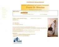 Website Allgemeinarzt Dr. med. Manfred Strecker