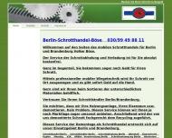 Bild Webseite BSB Berlin Schrotthandel Böse Berlin