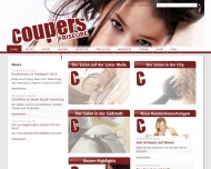 Website COUPERS - Friseure