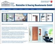 Bild Rietmüller & Doering Bauelemente GmbH