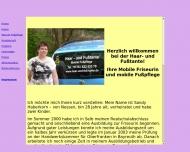 Website Haar und Fußtante