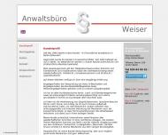 Bild Webseite Antje F. Weiser Berlin