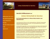 Website Limes Sicherheit & Service