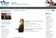Website Bildungsinstitut der Rheinischen Wirtschaft