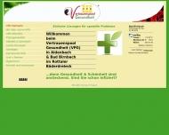 Website Naturheilpraxis im Vertrauenspool Gesundheit
