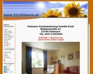 Bild Webseite  Fehmarn