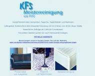 Bild Webseite KFS Meisterreinigung seit 1972 Rösrath