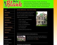 Website Maler Blank